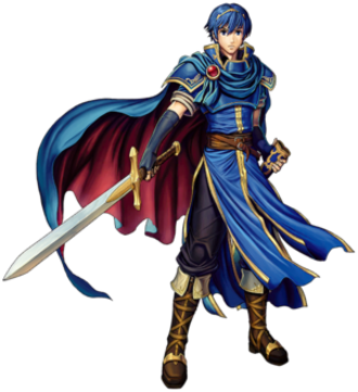 Marth (Fire Emblem) - Marth as he appears in Super Smash Bros. Ultimate