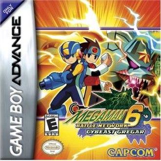 Mega Man Battle Network 6 - North American box art