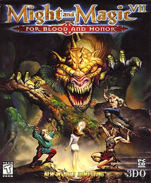 Might and Magic VII: For Blood and Honor - Image: Might And Magic 7Box