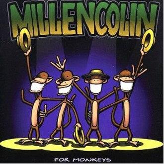 For Monkeys - Image: Millencolin For Monkeys cover
