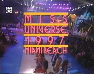 Miss Universe 1997 - Miss Universe 1997 Titlecard