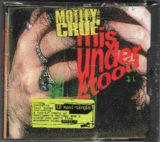 Misunderstood (Mötley Crüe song) 1994 single by Mötley Crüe