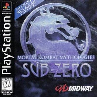 Mortal Kombat Mythologies: Sub-Zero - Image: Mortal Kombat Mythologies