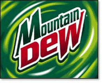 Mountain Dew - The fourth Mountain Dew logo used from 1999 to 2005.