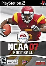 Bush on the cover of NCAA Football 07