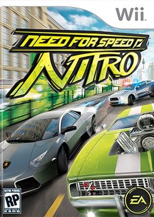 Need for Speed: Nitro - Image: NFS Nitro Wii cover art