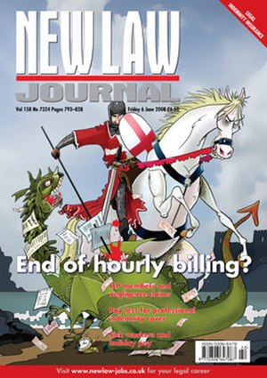 New Law Journal - Image: New Law Journal FC 250x 354px