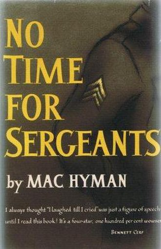 No Time for Sergeants - First edition cover
