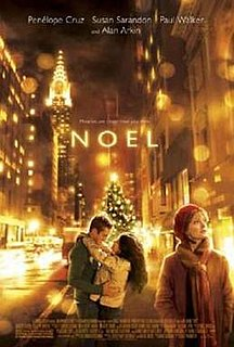 <i>Noel</i> (film) 2004 American Christmas-themed drama film directed by Chazz Palminteri