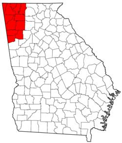 Northwest Georgia (U S ) - Wikipedia