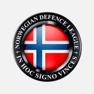 European Defence League - Image: Norwegian Defence League logo