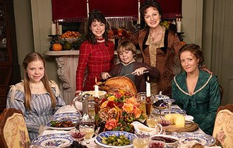 An Old Fashioned Thanksgiving - Image: OF Tgiving Cast