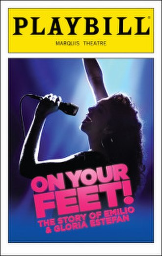 On Your Feet! - Playbill cover for the original Broadway production