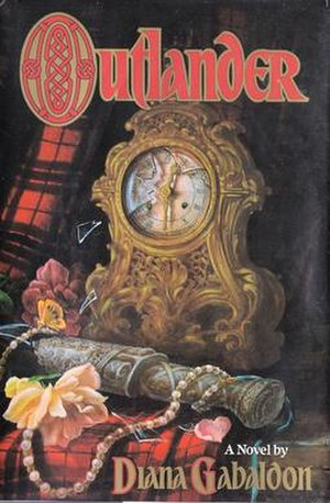 Outlander (novel) - First edition cover