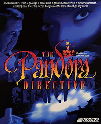 The Pandora Directive - Cover art