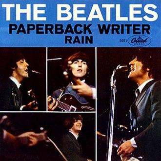 Paperback Writer - Image: Paperrain