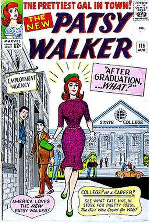 Al Hartley - Image: Patsy Walker 116