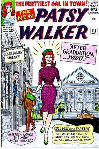 Al Hartley - Image: Patsy Walker 116