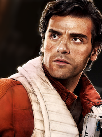 Poe Dameron - Promotional photo of Oscar Isaac as Poe Dameron from The Force Awakens