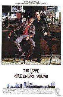 <i>The Pope of Greenwich Village</i> 1984 US crime dark comedy film by Stuart Rosenberg