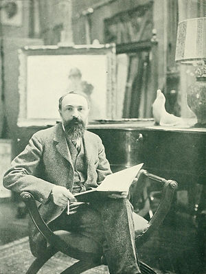 September Morn - The painter, Paul Émile Chabas, c. 1910