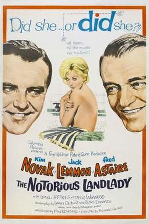 The Notorious Landlady - Image: Poster of the movie The Notorious Landlady