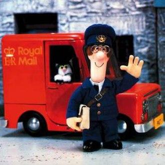 Postman Pat - Postman Pat and his black and white cat, Jess in the original series.