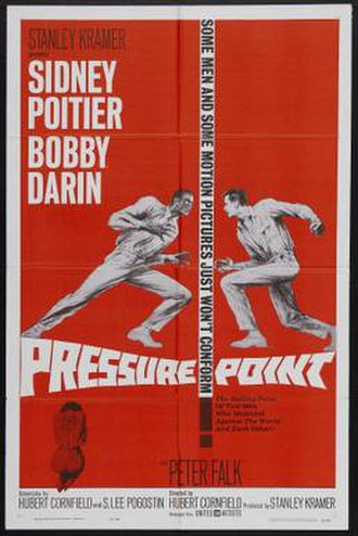 Pressure Point (1962 film) - Image: Pressure Point Film Poster