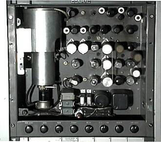 Indian-head test pattern - The RCA TK-1C monoscope camera that generated the test pattern