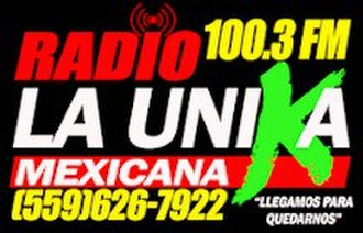 KMAK - Image: Radio 100.3 La Unika