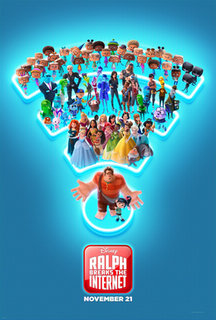<i>Ralph Breaks the Internet</i> 2018 animated film produced by Walt Disney Animation Studios
