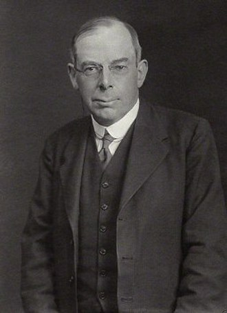 Raymond Wilson Chambers - Portrait of Raymond Wilson Chambers by Walter Stoneman, 1933