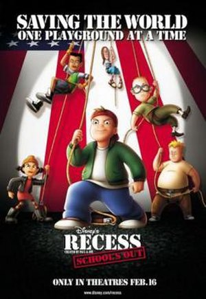 Recess: School's Out - Theatrical release poster
