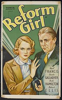 <i>Reform Girl</i> 1933 film directed by Sam Newfield