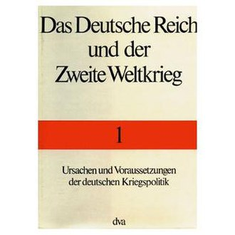 Germany and the Second World War - Cover of the original German edition of volume 1