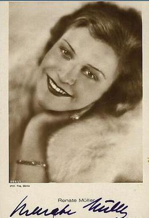 Renate Müller - photographed in 1935