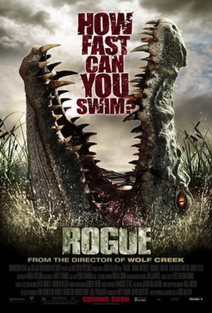 Rogue (film) - Theatrical release poster