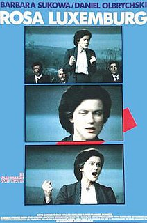 <i>Rosa Luxemburg</i> (film) 1986 film by Margarethe von Trotta