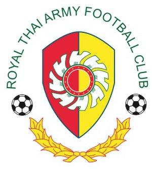 2017 Royal Thai Army F.C. season - Image: Royal Thai Army football Club logo, It is new change logo, Feb 2015