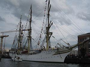 Sørlandet (ship) - Sørlandet at the SAIL Amsterdam event in 2010