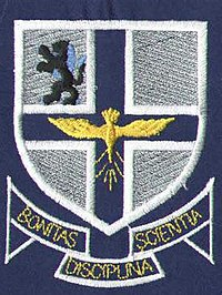 The official badge of St. Mary's School.