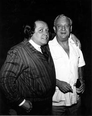 Sam Kinison - Kinison (left) with Rodney Dangerfield