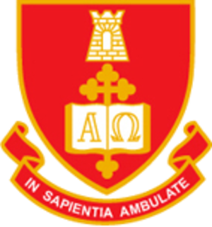 Sancta Sophia College, University of Sydney - Image: Sancta crest