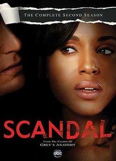 <i>Scandal</i> (season 2) Season of American television series Scandal