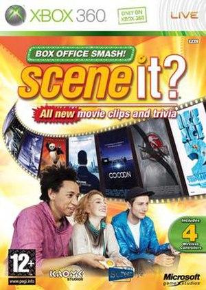 Scene It? Box Office Smash - European cover art