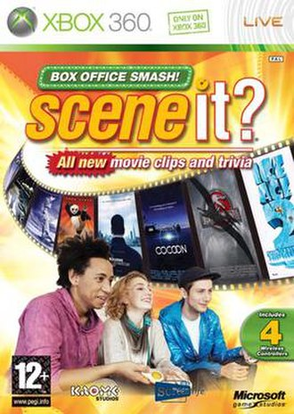 Scene It? Box Office Smash - European cover art