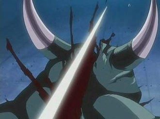 Gin Ichimaru - Gin uses Shinsō to attack from great distances.