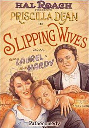 Slipping Wives - Theatrical poster