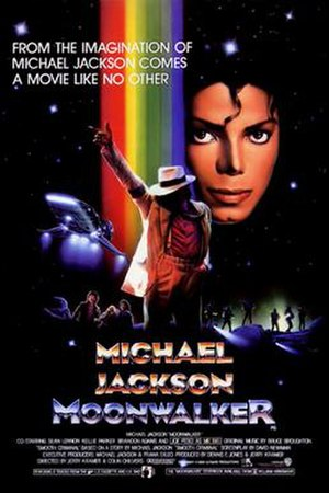 Moonwalker - Theatrical release poster by Bill Gold
