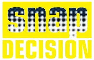 <i>Snap Decision</i> television series